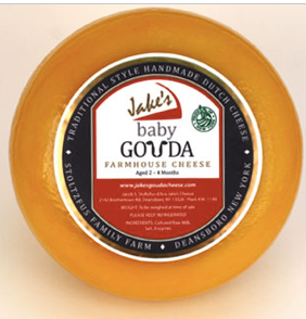 Jake's, Cheese Gouda Baby Local, 0.5 lb