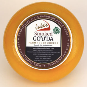 Jake's, Cheese Smoked Gouda Local, 0.55 lb wedge