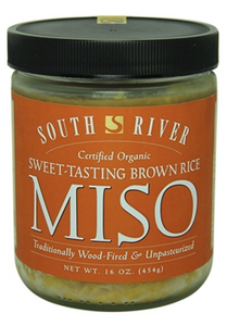 South River, Miso Sweet-Tasting Brown Rice Regional, 16 oz