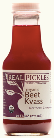 Real Pickles, Kvass Beet Regional, 10 oz