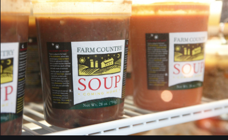 Farm Country, Soup Potato Leek Arugula Great Barrington MA, 32 oz