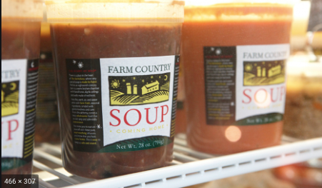Farm Country, Soup Tomato Chevre Great Barrington MA, 32 oz
