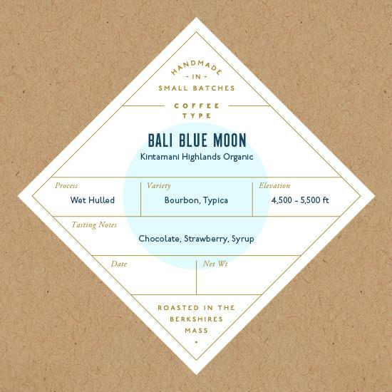 Six Depot, Coffee Bali Blue Moon Whole Bean Local, 12 oz