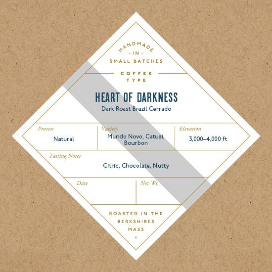 Six Depot, Coffee Heart of Darkness Whole Bean Local, 12 oz