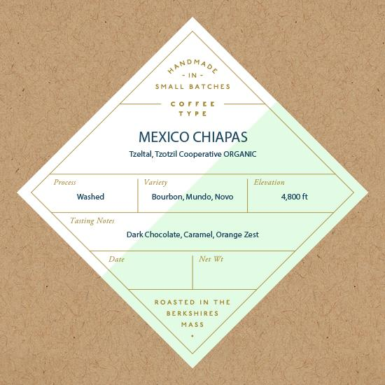 Six Depot, Coffee Mexican Chiapas Whole Bean Local, 12 oz