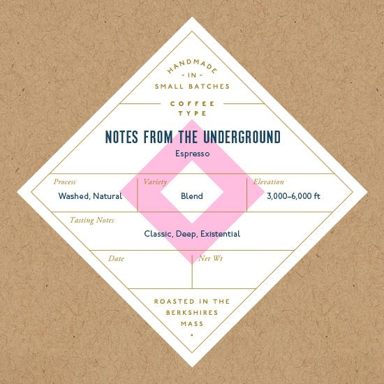 Six Depot, Coffee Notes From The Underground Whole Bean Local, 12 oz
