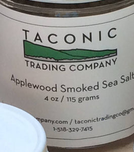 Taconic Trading, Salt Sea Applewood Smoked Ancram NY, 5 oz