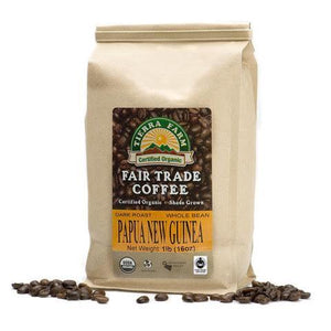 Tierra Farm, Coffee Papua New Guinea Whole Bean Local, 1 lb