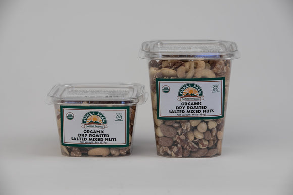 Tierra Farms, Nuts Mixed Organic Local, 8 oz
