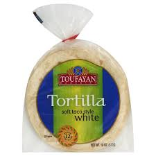 Toufayan, Tortilla Soft Taco Style White Wheat Regional, 18 oz (18 x 6