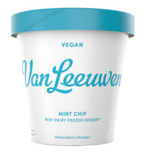Van Leeuwen, Ice Cream Mint Chip Vegan NY, 14 oz