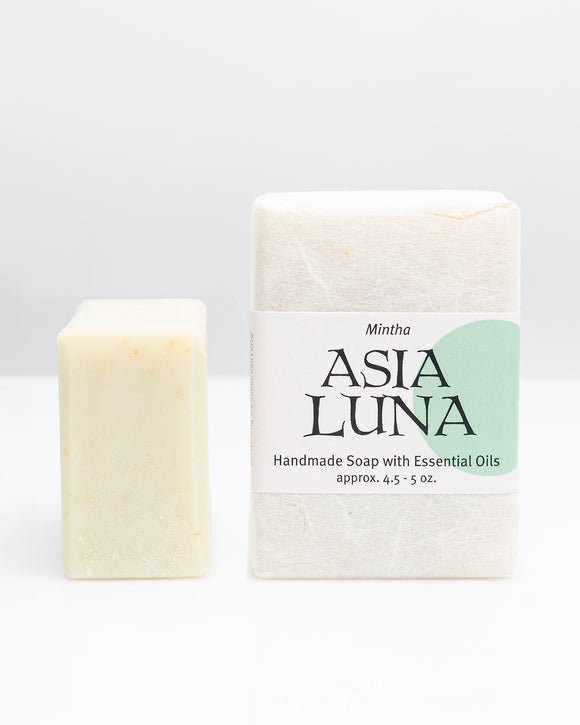 Asia Luna, Soap Mintha Local, 4.5 oz