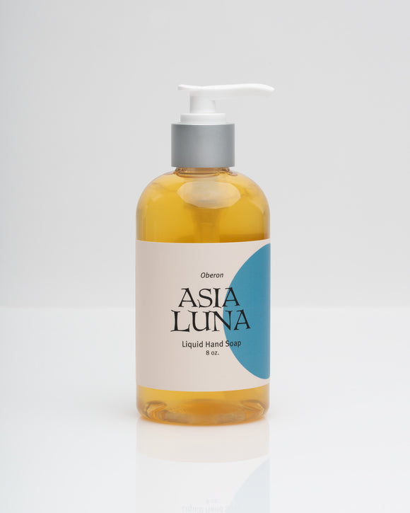 Asia Luna, Hand Soap Liquid Oberon Local, 8 oz