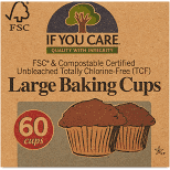 If You Care, Baking Cups Large, 60 cups