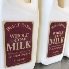 Berle, Milk Local Organic, 1/2 gal