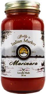 Billy's Italian, Sauce Marinara, 26 oz