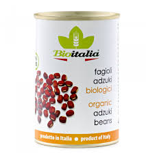 Bioitalia, Bean Adzuki Organic Non-Local Canned, 14 oz