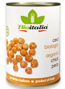 Bioitalia, Chick Peas Organic, 14 oz can