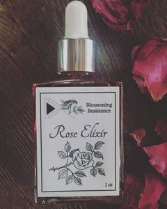 Blossoming Resistance, Elixir Rose Cheshire MA, 1 oz