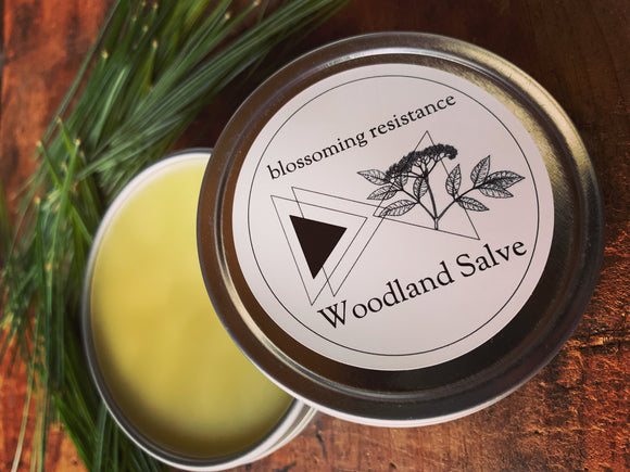 Blossoming Resistance, Salve Woodland Cheshire MA, 2 oz