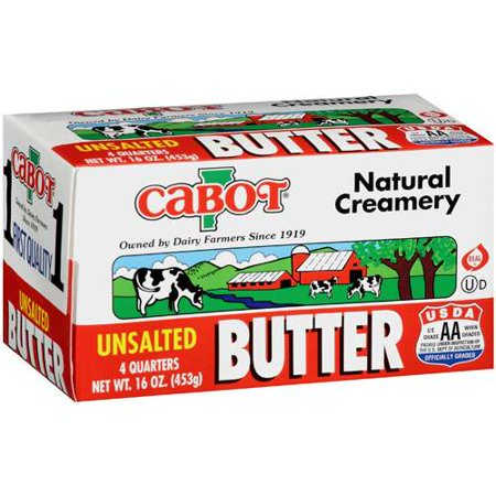 Cabot, Butter Unsalted Sticks Regional, 16 oz