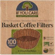 If You Care, Coffee Filters Basket, 100 filters