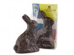 Lake Champlain, Dark Chocolate Baby Bunny Organic, 1 oz