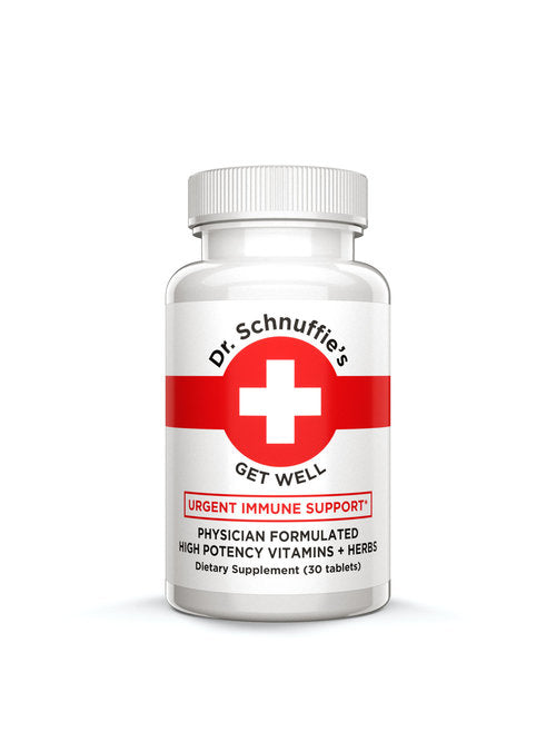 Dr. Schnuffies, Vitamins Get Well Great Barrington MA, 30 Tablets