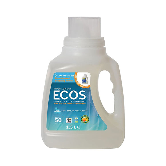 Ecos, Laundry Detergent Free and Clear, 50 fl oz