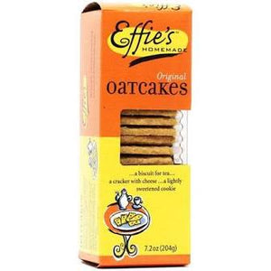 Effie's Homemade, Cookie Oatcake Original Regional,  7.2 oz