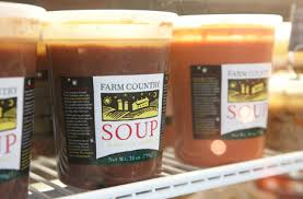 Farm Country, Soup Sweet Pea & Mint Great Barrington MA, 32 oz
