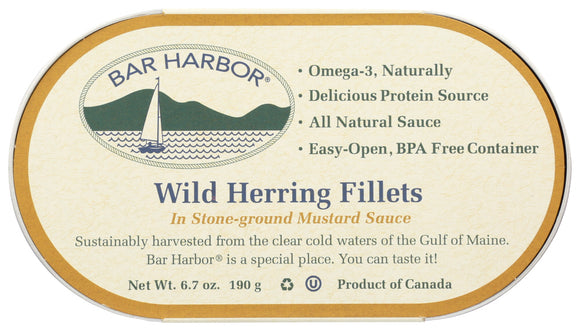 Bar Harbor, Herring Mustard Sauce Regional, 6.7 oz