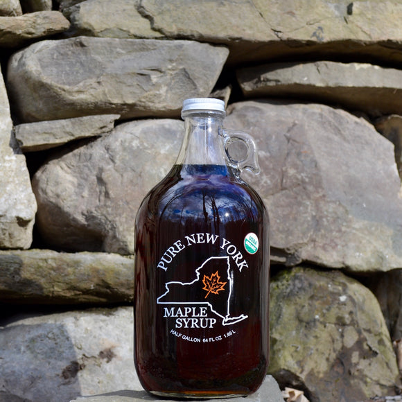 Maple Leaf Sugaring, Syrup Maple Ghent NY, 64 oz