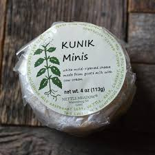 Nettle Meadow, Cheese Kunik Mini Warrensburg NY, 3.5 oz