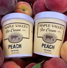 Maple Valley, Ice Cream Peach, pint