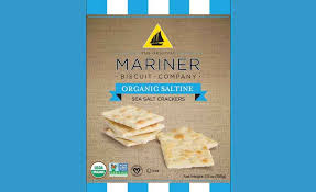 Mariner, Crackers Saltine Organic, 5.5 oz