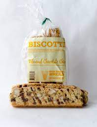Our Daily Bread, Biscotti Almond Chocolate Chip Chatham NY, 8oz