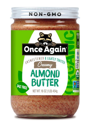 Once Again, Almond Butter Creamy Regional, 12 oz