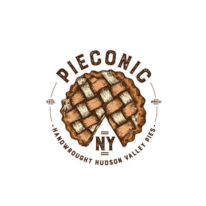 Pieconic, Pie Pippi's Brown Maple Butter Chess Chatham NY, 9""