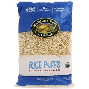 Nature's Path, Rice Puff Cereal Organic, 6 oz