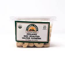 Tierra Farm, Cashew Roasted Salted Organic Local, 8 oz