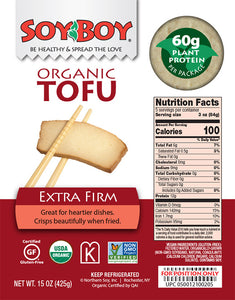 Soy Boy, Tofu Extra Firm Regional, 15 oz.