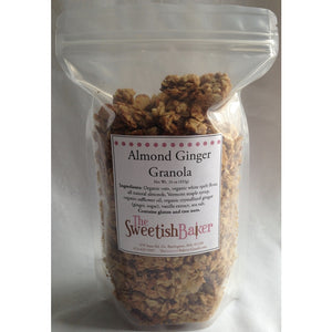 Sweetish Baker, Granola Almond Ginger Local, 16 oz