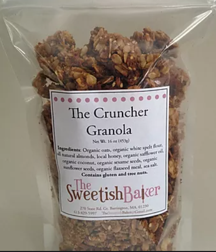 Sweetish Baker, Granola Cruncher Local, 16 oz