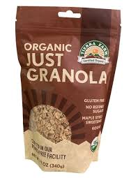Tierra Farm, Granola Cinnamon Maple Gluten-Free Organic Local, 16 oz