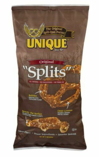 Unique, Pretzel Splits Original Regional, 12 oz