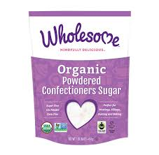 Wholesome, Sugar Powered Confectioners Organic, 1lb
