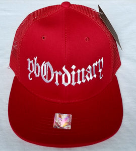 ybOrdinary- West Coast Style Vented SNAPBACK