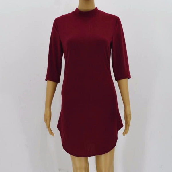 ybOrdinary- Half Sleeve Dress - yb Ordinary Clothing