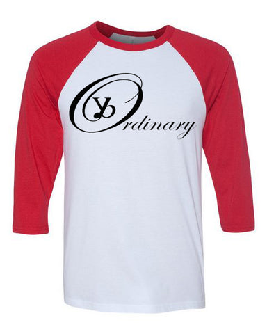 ybOrdinary - Men's Raglan Tee (Different Colors Available)
